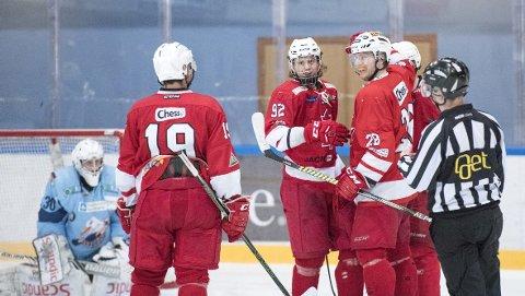 Bergen Ishockeyklubb har vunnet åtte av de ni siste kampene i 2. divisjon.