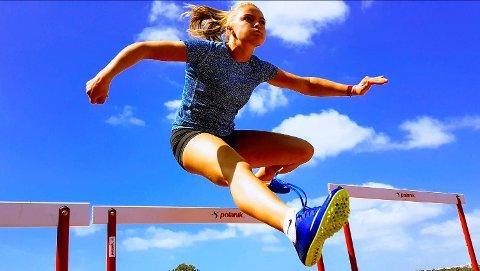 Live Haugstad Hilton (19) er Bergens Turnforening sin frontfigur i friidrett. Nå slipper hun å bytte klubb når hun runder 20!