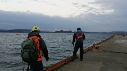 Explorers search for land and water.