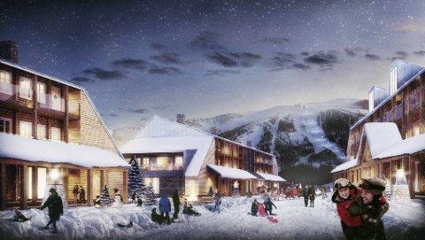 Kommunestyret i Eidfjord ga denne uken tommel opp til hytteeldoradodet Eidfjord Resort.
