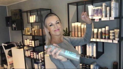 Harmoni Frisør: Linda Økland Kallmyr har startet opp egen frisørsalong i Østhusvik.