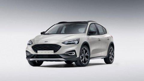 STADIG MER VANLIG: Nye Ford Focus er et godt eksempel på at også folkelig prisede biler kommer med svært avansert lysutstyr.