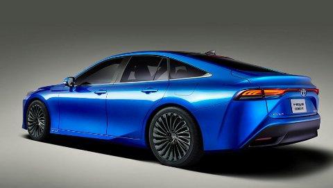 Toyota Mirai er en hydrogendrevet bil som nå kommer i en helt ny generasjon.