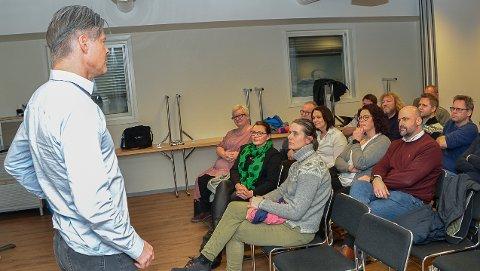 Suksessfaktorer: Det var et lydhørt publikum som fikk høre Vegard Hansen fortelle om Mjøndalens vei til suksess.