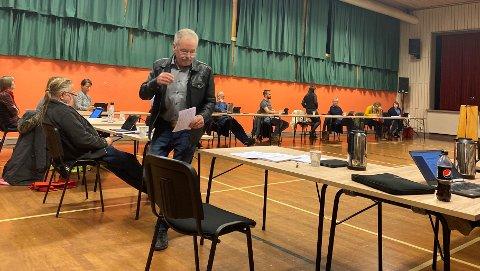 FEKK IKKJE GEHØR: Marthon Skårland (H) hadde fem meiningsfellar i saka om Faurefjell. Det var på langt nær nok til at kommunestyret innvilga søknaden frå Norsk Vind om dispensasjon til å få bruka området til vindkraft.