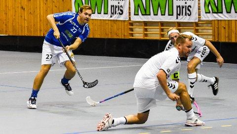 SCORET: Didrik Grøstad scoret for NOR 92 i Sverige.