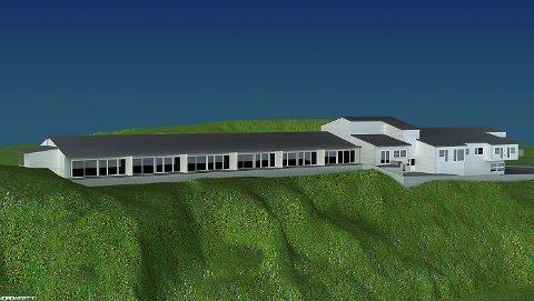 Andre etaseje av den gamle sjukeheimen på Naustneset kan bli forvandla til panoramaleilegheiter på 112 til 141 kvm. Etterbruk av Svelgen bu- og omsorgssenter (SBS)