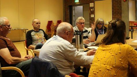 EVJA: Plan- og samfunnsutvalet diskuterte utbyggingsplanane på Evja.