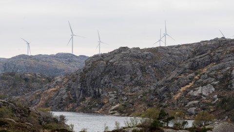 HORISONT: – Er det slik vi vil sjå horisonten ved Viksdalen, spør Johannes Malvin Oppedal. Bildet er frå Eigersund kommune i Rogaland.