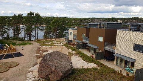 TRINN 1: 42 rekkehus ble ferdigstilt i Vestre Langøyåsen i høst. Nå har AF Gruppen fått jobben med å bygge de neste 48.