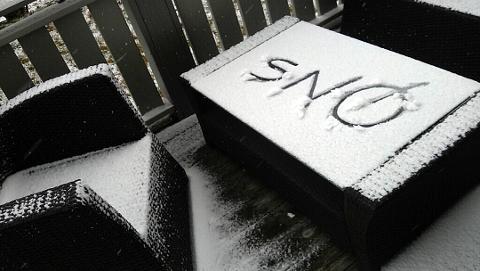 BRRRR: Det er varslet nordavind og fare for snø natt til søndag.