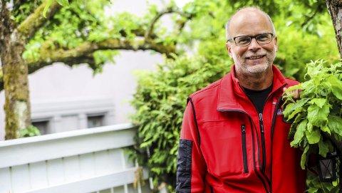 Kjøpmann: Ole Jørgen Lind tror køene på Svinesund vil fortsette fordi stadig flere nordmenn blir fullvaksinerte.
