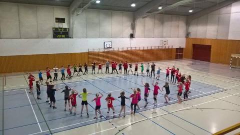 De som er glade i håndball får endelig muligheten til å gå på fritidsordningen ÅHK Aktiv.
