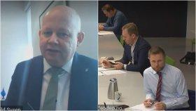 Ordfører Torvild Sveen (Sp) i Gjøvik endte opp i en diskusjon i møtet med helseminister Bent Høie og Innlands-ordførerne tirsdag.