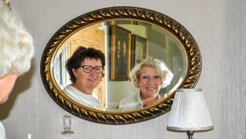 Samarbeid: Ann Olerud (t.v.) har hatt god hjelp av rådgiver Sigrid Hohle Bjønness.