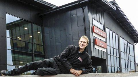 FUNDAMENT: Magnar Kristiansen ønsker å bygge videre på det fundamentet bedriften han skal lede allerede står fjellstøtt på. Han gleder seg til å ta fatt.