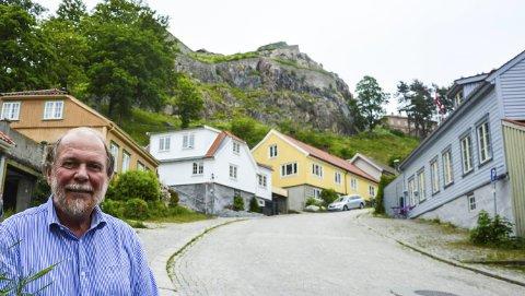 TRIVES: – Jeg har blitt oppriktig glad i Halden etter å ha bodd her siden 1972, sier den ferske pensjonisten Svein Norheim.