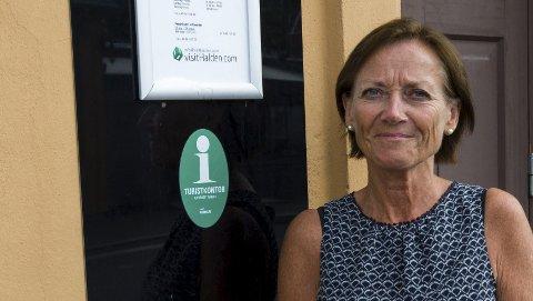Glad i Halden: I desember i år har Liv Lindskog vært turistsjef i Halden Turist i 20 år.  Alle foto: Sara Helen Engmo