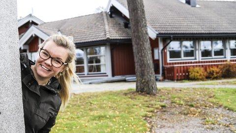 SPENNENDE FORSLAG: Marte Espelund-Sande foreslår at kommunen overtar driften av Furulund, og lager et sysselsettingsprosjekt for folk som trenger litt ekstra støtte og oppfølging. Det betrakter hun som en vinn-vinn-situasjon. Hun synes det er ille at Furulund står tomt.