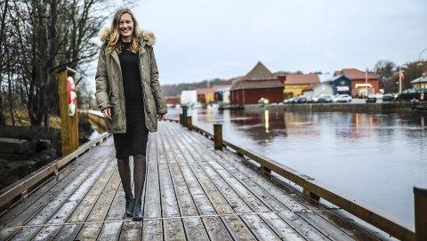 Spent: Ingeborg Marie Østby Laukvik gleder seg til 1. april. Da tar hun fatt på jobben som den første daglige lederen i nyetablerte Halden Næringsutvikling. – Det skjer mye spennende i næringslivet i verdens beste hjemby, sier hun.