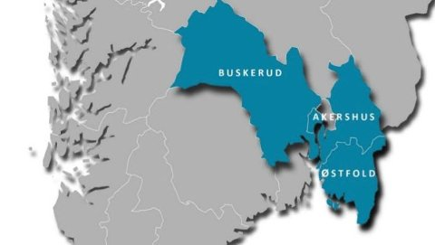Viken er en sammenslutning av fylkene Østfold, Akershus og Buskerud.