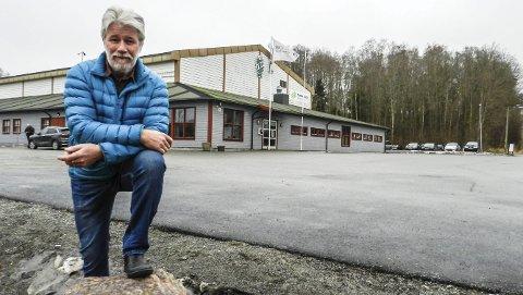 Tron Grandal i TTIF håper og tror på en kjapp avklaring om utvidelse av Tistedalshallen.