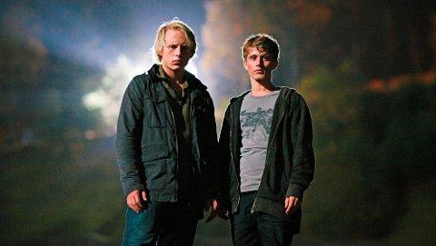 PÅ SKJERMEN: Odin Waage (venstre) var med i TV-serien Øyenvitne i 2014.