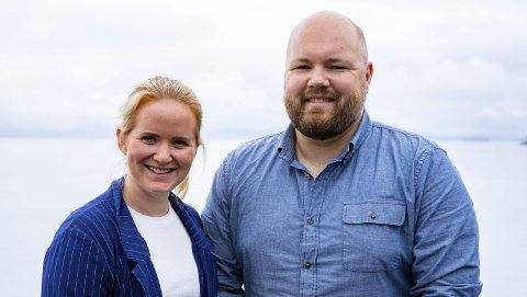 Turné: Tale Hauso og Oddgeir Øystese kjem tysdag til Kinsarvik og Eidfjord. Dei vil stille dine spørsmål til politikarane.Foto: NRK
