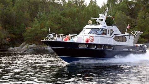 Tornerose blir torsdag morgen satt inn på sambandet Kinsarvik-Utne. Passasjerbåten vil følge vanlig rutetid.