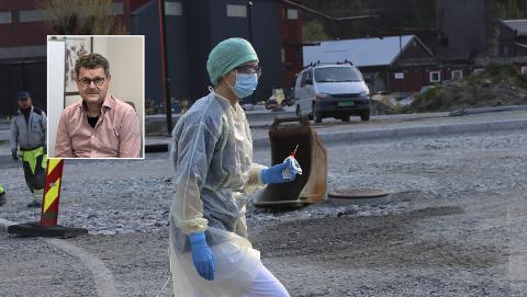 Det har til no blitt gjennomført 923 coronatestar i Ullensvang kommune, opplyser smittevernoverlege Steinar Jacobsen.