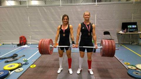 2015: Zekiye C. Nyland (t.v.) og Emma Hald tok bronse i NM. Nå sikter de høyere i NM på hjemmebane.