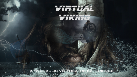 KONSEPTBILDE: «Virtual Viking» fra planen for The Ambush - den planlagte VR- hovedattraksjonen i The Viking Planet.