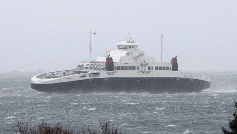 Fjord1 kansellerer flere avganger over Boknafjorden onsdag.