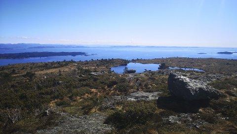 Utsikten: Utsikt fra Gudbrandsfjellet.