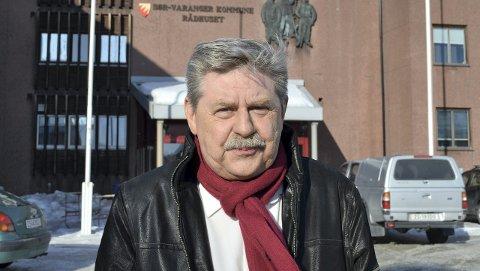 VIL GRANSKE: Leder for kontrollutvalget i Sør-Varanger, Staal Nilsen, vil til bunns i barnevernssaken.