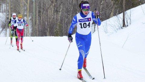 FART I SPORET: Anna Sofie Ravna viste i helgen at hun ikke bare er blant nordnorges beste skiskyttere.