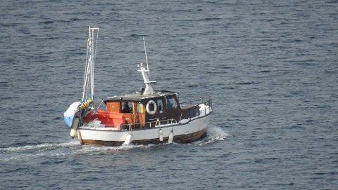 Den savnede båten har blitt søkt etter over et stort område det siste døgnet.