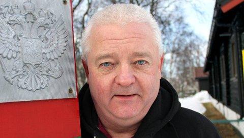 FENGSLET: Tidligere grenseinspektør Frode Berg er arrestert i Moskva. Han mistenkes for spionasje, ifølge FSB.