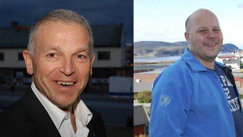 OPPLEVER VEKST: Båtsfjord og Gamvik opplevde befolkningsvekst i løpet av siste kvartal. Ordførerne Geir Knutsen og Trond Einar Olaussen er ikke overrasket over veksten i sine kommuner.