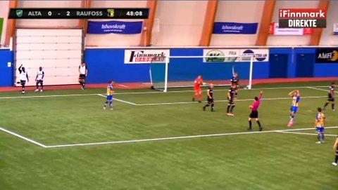 TAPTE SÅ DET SANG: Alta IF ble liggende under allerede i førsteomgang, men kjempet inn ett mål etter 2–0 ledelse fra Raufoss.