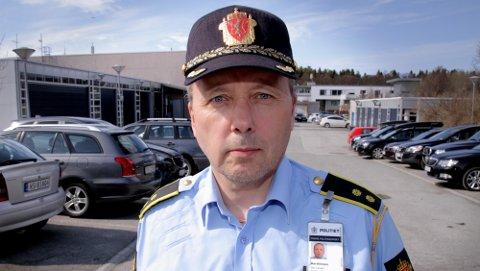 SLIPP KJØRETØY FORBI: UP-sjef Geir Marthinsen ber de som skal på ferie med bobil og campingvogn om å slippe folk forbi.
