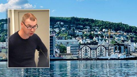 Jørn Hofsø Hjellnes i Rødt i Harstad sier at partiet er det eneste som vil angripe det bakenforliggende problemet som akselererer klimautslippene.