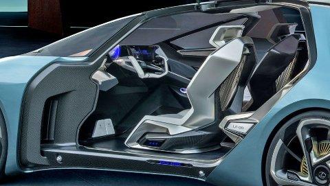 Mye skjer på ti år når det gjelder teknologiutvikling. Dette er konseptbilen Lexus LF30 og slik mener Lexus at bilene kan bli om ti år.