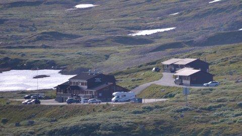 HALNE: Her ved Halne Fjellstugu sto en av Biskopsbodene på Hardangervidda.