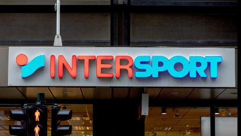 Oslo, NORGE 20200207.  Intersport, sportskjede logo. Foto: Gorm Kallestad / NTB scanpix