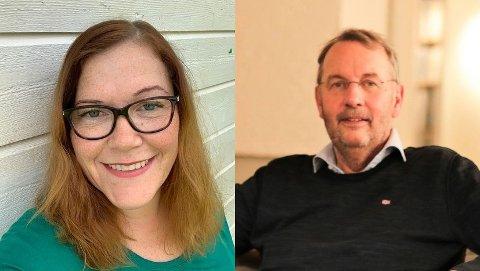 Anja Trones (Sp) og Pål Krüger (Frp) uttrykte skepsis til nedbemanningen på sykehjemmet og Lekneshagen i tirsdagens kommunestyremøte.