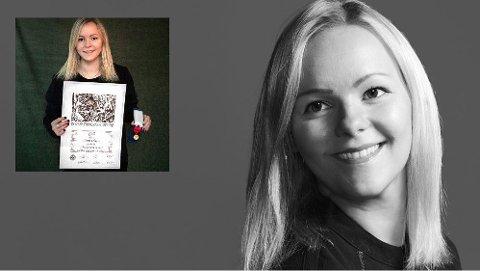 Linn Olsen (30) fra Leknes har flyttet fra Oslo til Eggum for å starte egen fotografbedrift.
