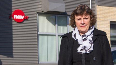 VEKST: Elisabeth Blørstad i Nav Agder kan melde om eksplosiv vekst i ledigheten i Agder og Lyngdal.
