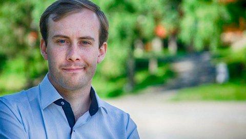 SIER JA: Simen Nord (H) støtter forslaget om fritt skolevalg i Østfold fra 2019.