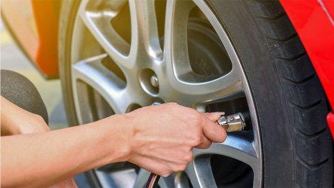 Lufttrykket er viktig, både for bilen og deg.